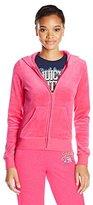 Juicy Couture Black Label Women's Logo Jc Lace Vlr Orig Jacket