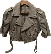 Jean Paul Gaultier Grey Cotton Jackets