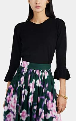 Barneys New York Women's Compact Knit Crewneck Sweater - Black