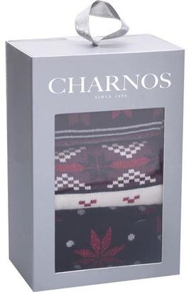 Charnos Chrns Fairisle 3P Ld94