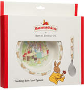 Bunnykins Running Design Feeding Bowl And Spoon