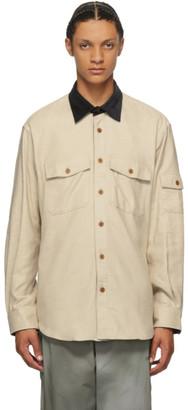 Phipps Beige Lumberjack Shirt