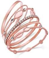 INC International Concepts 6-Pc. Crystal Bangle Bracelet Set, Created for Macy's