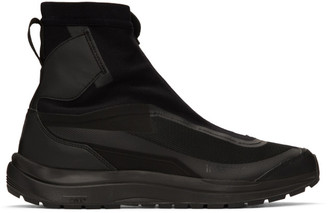 11 By Boris Bidjan Saberi Black Bamba 2 High Sneakers