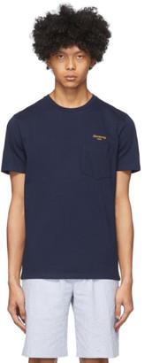 Harmony Navy Teddy Cursive T-Shirt