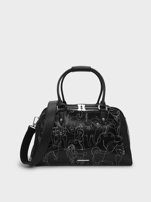 Charles & Keith Printed Pet Carrier