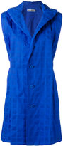 Issey Miyake single breasted gilet - women - Cotton - 3