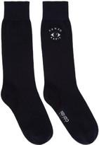 Kenzo Navy Eye Socks