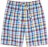 Derek Rose Checked Cotton Pyjama Shorts