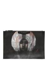 Givenchy Madonna Print Medium Pouch