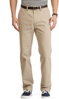 Nautica Flat Front Cotton Twill Pants