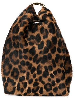Simonetta Ravizza Leopard Print Mini Bag