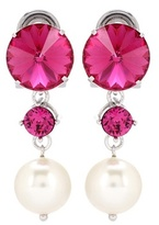 Miu Miu Crystal Earrings