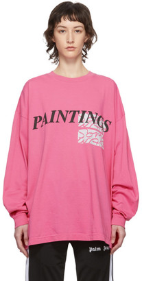 Some Ware Pink Paintings New Body Long Sleeve T-Shirt