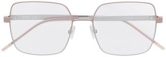 HUGO BOSS Square-Frame Tinted Glasses