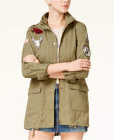American Rag Juniors' Cotton Patched Utility Jacket, Created for Macy's