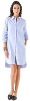 Tibi Cotton Shirtdress