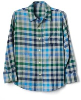 Gap Printed light-weight flannel shirt
