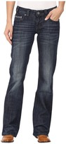Rock and Roll Cowgirl Riding Bootcut in Dark Wash W7-8466