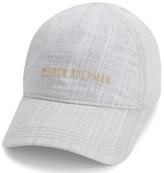 Ben Sherman Men's Textured Linen Baseball Hat