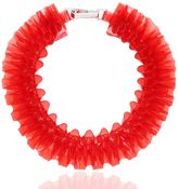 Mary Katrantzou Ruffled Pvc Necklace