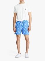 Ralph Lauren Polo Traveller Pineapple Print Swim Shorts, Bathsheba