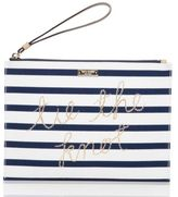 Kate Spade wedding belles tie the knot pouch
