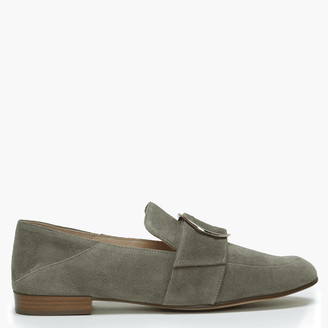 Högl Mayburn Khaki Suede Loafers