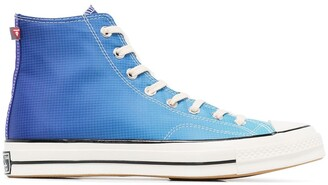 Converse Blue Primaloft Chuck 70 high top sneakers