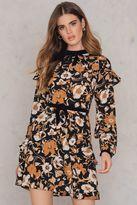 For Love & Lemons Floret Print Mini Dress