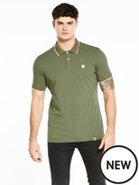 Pretty Green Bassline Short Sleeved Tipped Polo
