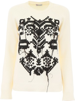 RED Valentino Crewneck Knitted Jumper