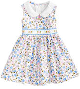 Bonnie Baby Floral-Print Smocked Dress, Baby Girls