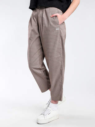 Stussy Boston Pants in Brown Check