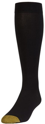 Gold Toe Mild Compression Over The Calf Dress Socks