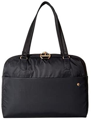 Pacsafe Citysafe CX Anti-Theft Slim Laptop Brief (Black) Briefcase Bags