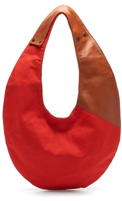 Gabriel For Sach - Saturno Leather-panelled Canvas Bag - Red Multi