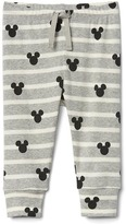Gap babyGap | Disney Baby Mickey Mouse and stripes pants