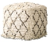 Thumbnail for your product : Bloomingville Moroccan Wedding Quilt Pouf with Sequins & Fringe