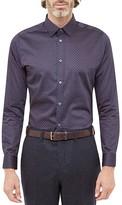 Ted Baker Lenons Geo Print Regular Fit Button Down Shirt