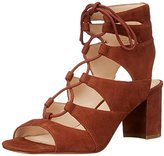 Nine West Women's Takeitup Suede Heeled Sandal
