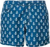 MC2 Saint Barth anchor print swim shorts - men - Polyamide/Polyester/Spandex/Elastane - S