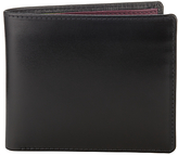 Launer Made In England Leather Bi-fold 8 Card Wallet, Black
