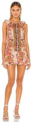 Free People Summer In Tulum Mini Dress