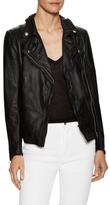 Muu Baa Monteria Leather Biker Jacket