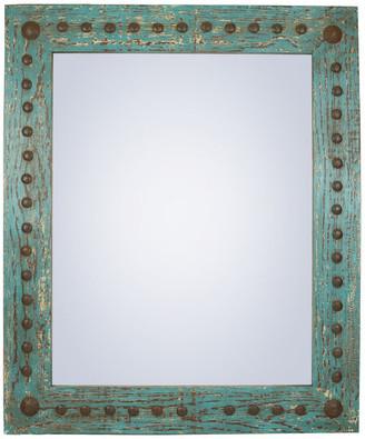 """My Amigos Imports Rustic Mirror, Puebla, 30""""x36"""""""