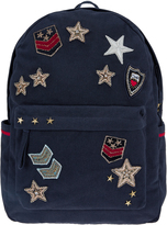 Accessorize Military Badge Backpack