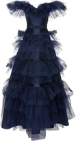 Alexis Mabille Off the Shoulder Tulle Gown
