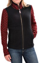 Obermeyer June Cardigan Sweater - Full Zip, Angora, Merino Wool (For Women)