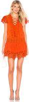 Free People Esperanza Eyelet Mini Dress
